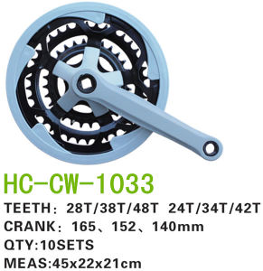 Bicycle Spare Parts of Chainwheel & Crank for MTB Bike (CW-1033) pictures & photos