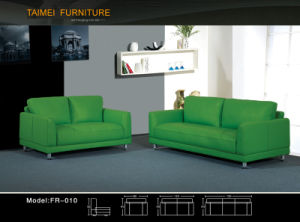 Living Room Furniture Modern Sofa with Real Leather Sofa pictures & photos