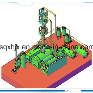 Continuous Tyre Oil Distillation Machinery 15ton pictures & photos