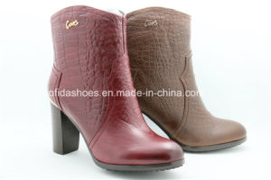 2014 Fashion High Heels Women Ankle Boots for Fashion Lady pictures & photos