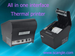 80mm Thermal Kitchen Receipt Printer with High Quality and Auto Cutter pictures & photos