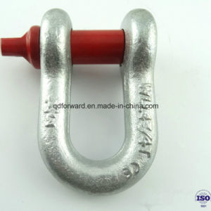 Us Type Forged High Tensile Steel D Shackle G210 pictures & photos