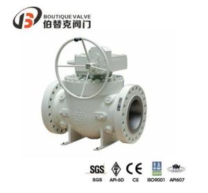 API 6D Top Entry Ball Valve