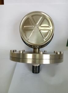 1000 Mmwc Pressure Gauge Manometer with Diaphragm Seal Bottom 1/2′′ Thread 4 Inch Dial pictures & photos