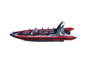 Aqualand 35feet 10.5m Fiberglass Rigid Inflatable Boat/Rib Patrol Boat (RIB1050) pictures & photos