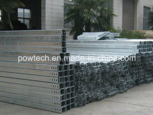 Perforated Channel Cable Tray Hot DIP Galvanized Steel ISO, SGS Certification pictures & photos