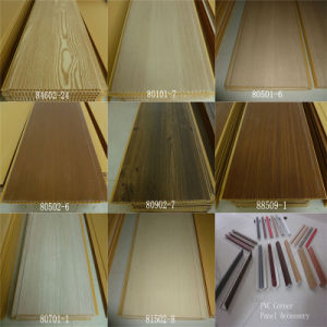 Top Grade PVC Wall Panel Lamination Panel Building Construction Material pictures & photos