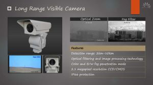 Border Defense Long Range Visible Camera pictures & photos