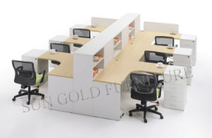 Modular Workstation with Partition Screen Office Furniture (SZ-WS051) pictures & photos
