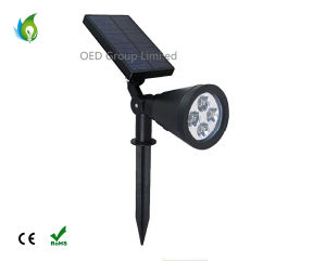 RGB White Solar Lawn Light for Garden Lighting pictures & photos