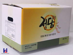 Good Quality Kimchi Packaging Box/Pickled Vegetables Box, 10kg Box pictures & photos