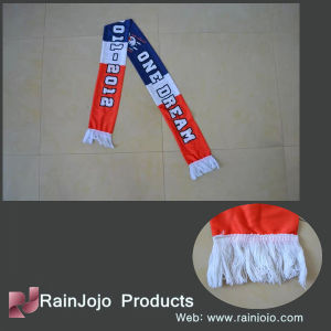 Small Quantity Sublimated Printing Satin Fan Scarf pictures & photos