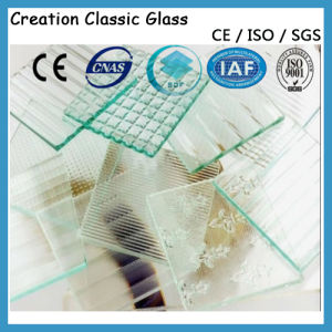 Clear/Coloreded Pattern Glass for Decoration/Furniture Glass pictures & photos