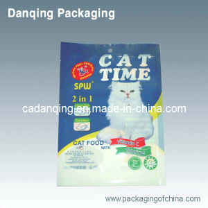 Hot Clear Laminated Plastic Cat Food Pouch Packaging Bag (DQ0246) pictures & photos