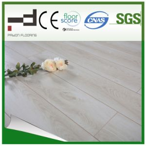 8&12mm White Oak Eir Sparking Surface Pressed Bevelled Laminated Floor pictures & photos