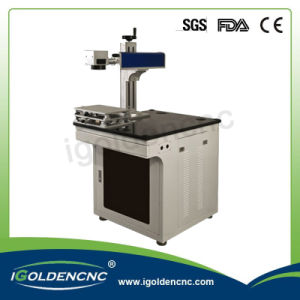 Aluminum Iron Stainless Steel Gold Silver Fiber Marking Machine 20W pictures & photos