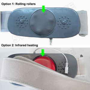Vibration Shiatsu and Heat Body Shape Slimming Belt Massager pictures & photos