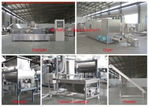 Industrial Commercial Crispy Corn Flakes Extruder pictures & photos
