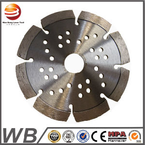 Laser Welded Diamond Saw Blade for Cutting Concrete/Diamond Cutting Tools (Flat Seg) pictures & photos