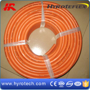 5mm-10mm W. P 20bar Orange LPG Hose pictures & photos