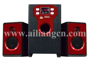 Multimedia Speaker with LED Display Usbfm-T11c/2.1 Ailiang