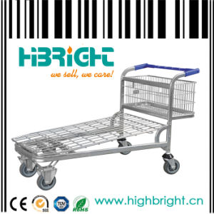 Shopping Cargo Cart Trolley Warehouse Trolley pictures & photos