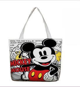 Eco-Friendly Reusable Cotton Canvas Shopping Bag (LL008025) pictures & photos