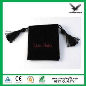Luxury Plush Velvet Suedine Jewelry Bag Cotton Backing Velvet pictures & photos