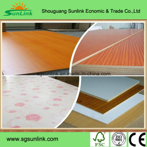 Melamine Laminated MDF for Furniture pictures & photos