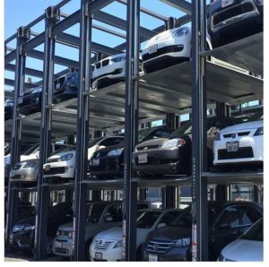 3 Level Stacker Puzzle Parking System Car Lift pictures & photos