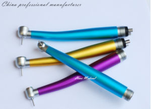 High Speed Color Dental Turbine Handpiece pictures & photos