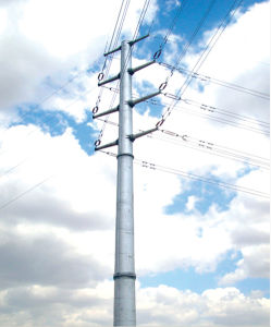 High Quantity Single Tube transmission Tower pictures & photos