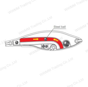 Top Grade Grade Plastic Fishing Lure--UV Coated Diving Minnow (HW007) pictures & photos