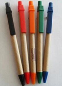 Custom Brand Logo Kraft Paper Ballpoint Pen pictures & photos