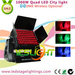 DMX Wireless LED City Color Light 96PCS*10W RGBW 4in1 LEDs pictures & photos