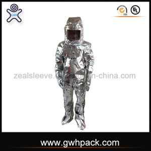 Fireman Outfit Aluminized Fireproof Fire Suit for Fire Fighting pictures & photos