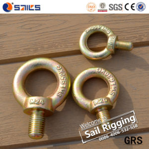 Heavy Duty Drop Forged Yellow Zinc JIS B1168 Eye Bolt pictures & photos
