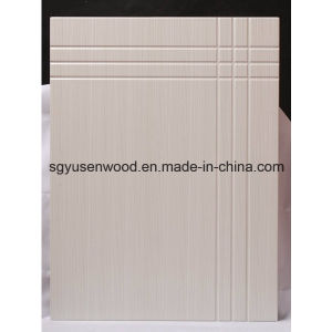 Hot Sale High Glossy PVC Kitchen Cabinet Door pictures & photos