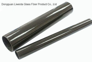 3k Roll Wrapping Carbon Fibre Tube / Carbon Fiber Pipe pictures & photos