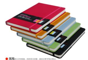 Colorful Notepad with Paper Pocket and Elastic Band pictures & photos