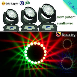 Full-New RGBW LED Effect Moving Head DJ Light for Head pictures & photos