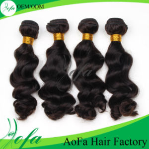Best Quality 7A Unprocessed Brazilian Virgin Human Hair Extension pictures & photos