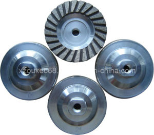 Turbo Segment Aluminium Diamond Cup Grinding Wheel pictures & photos