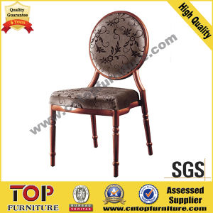 Antique Fabric Round Back Dining Wedding Chair (CY-1012) pictures & photos