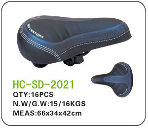 Leather Electric Bicycle Saddle (SD-2021) pictures & photos