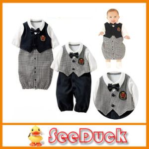 Baby Boy Rompers Infant Clothing Newborn Autumn Clothes Baby Fashion Costume Two Color Available Ks1518