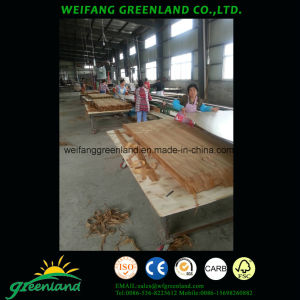 2, 5mm Cherry Engineered Veneer Plywood pictures & photos