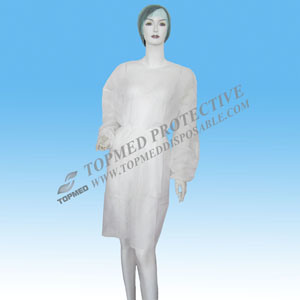 PP Non-Woven Disposable Lab Coat From Topmed pictures & photos