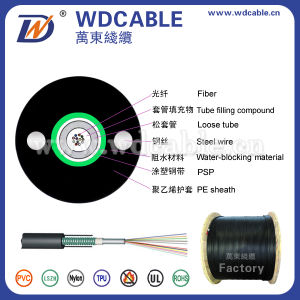 High Quality Cheap Price 2/4/6/8/10/12/14/16/18/24/48/96/144/288 Core Fiber Optic Cable