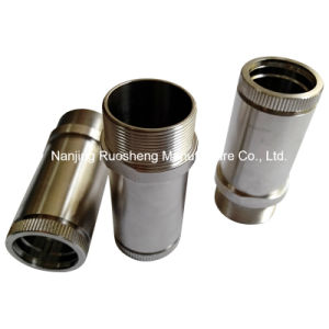 Stainless Steel CNC Machined Flexible Sleeve for Machinery Accessories